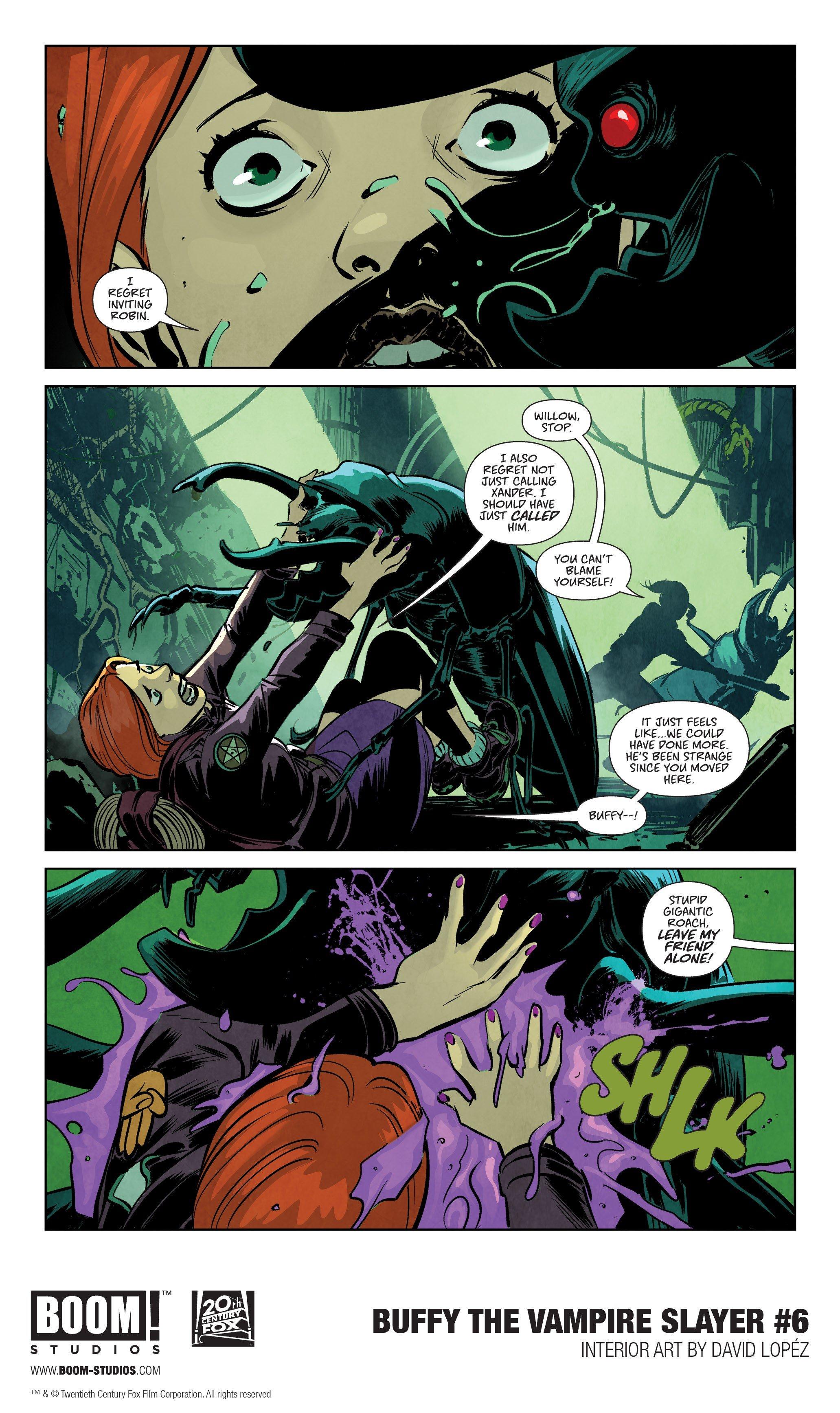 BUFFY THE VAMPIRE SLAYER #6