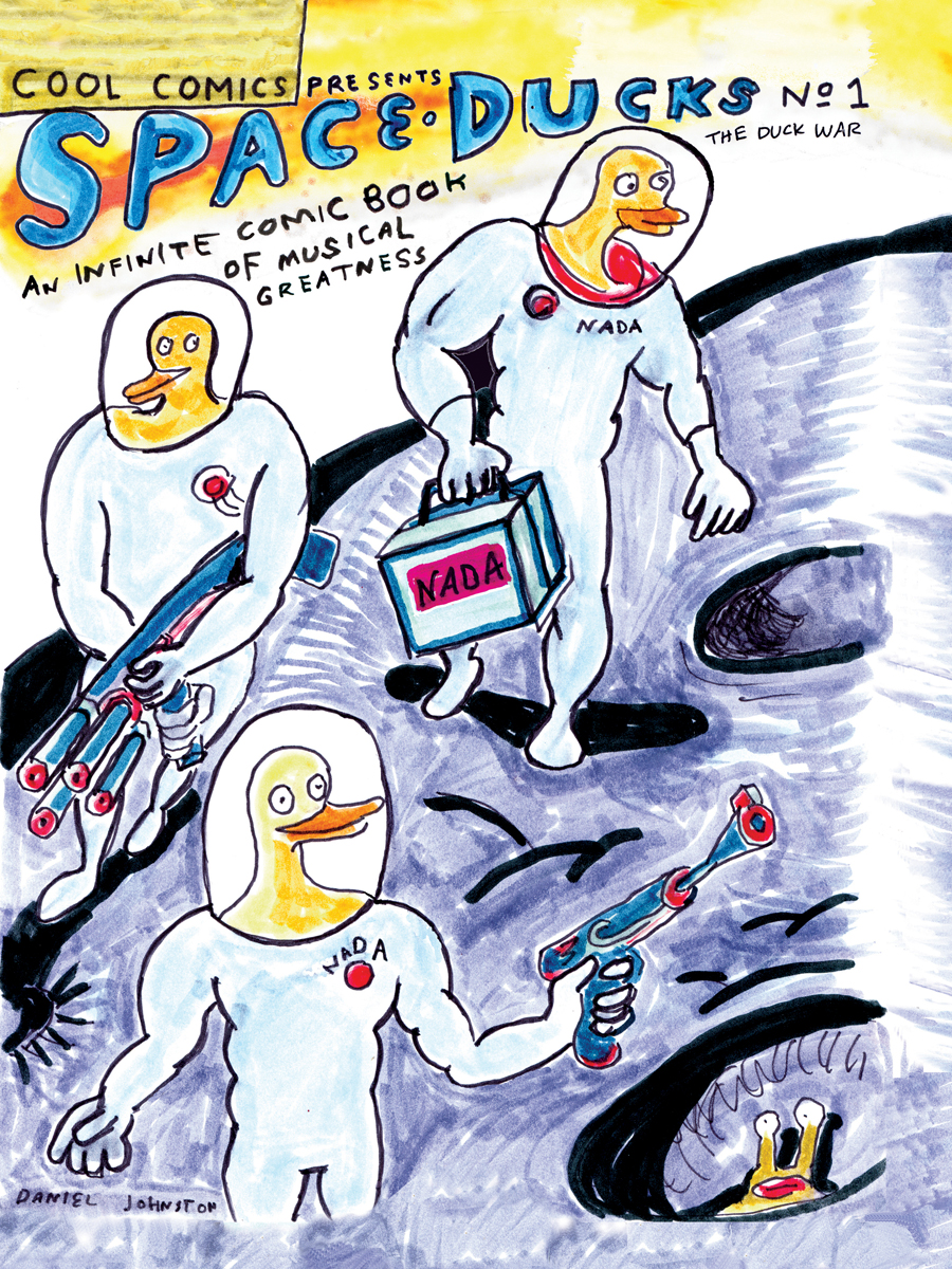 PRESS RELEASE: SPACE DUCKS: AN INFINITE COMIC BOOK OF MUSICAL GREATNESS out from Boom! in April Cover Image