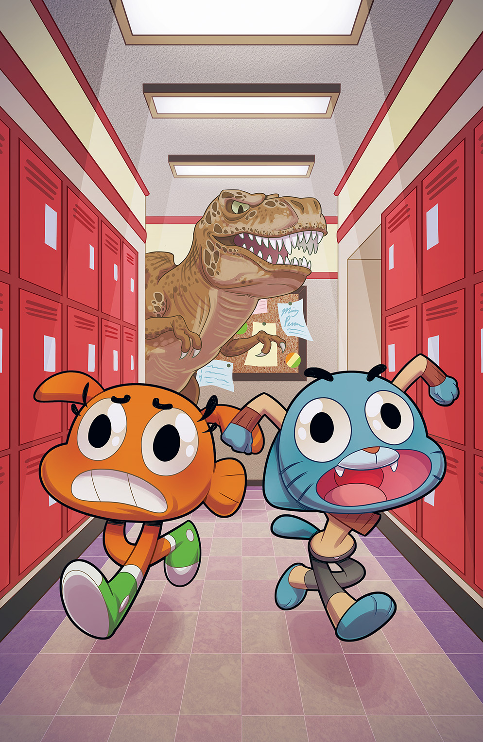 The Amazing World of Gumball #8 Cover A by Missy Pena