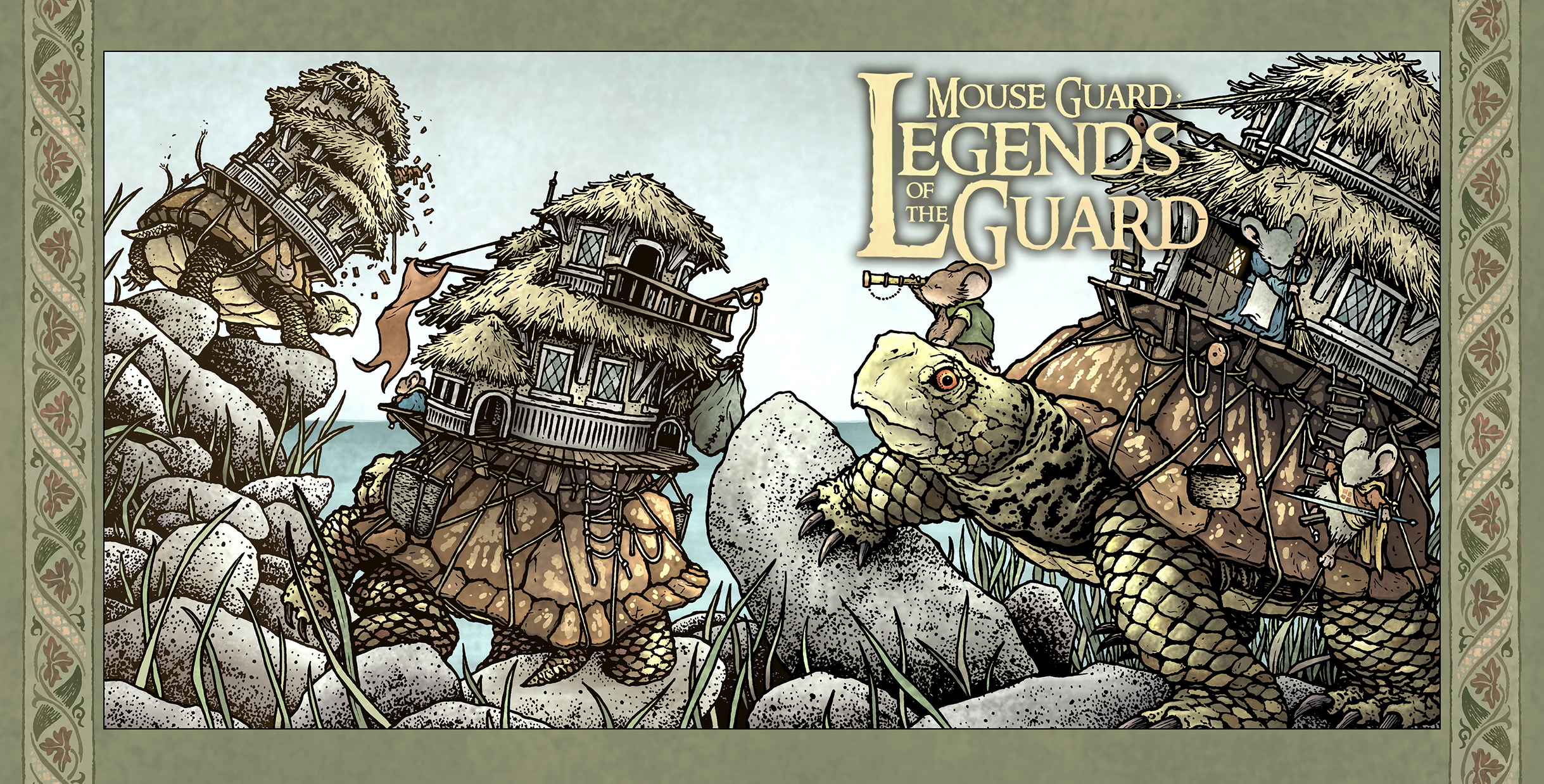MG: Legends of the Guard Vol. 3 #1 Main