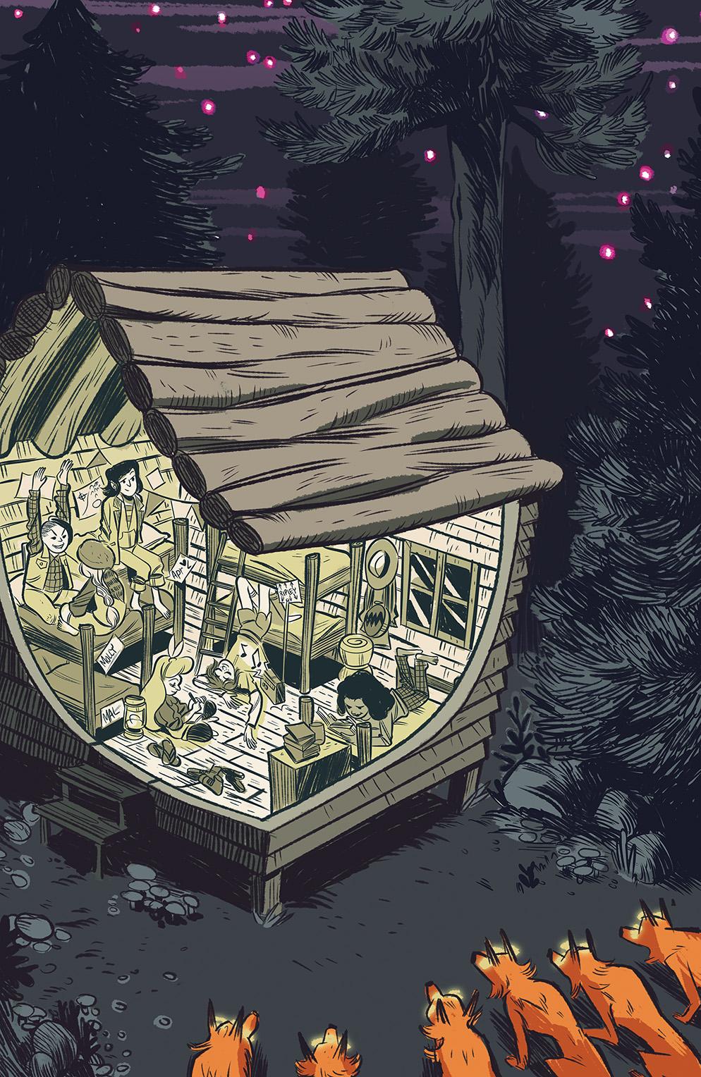 Lumberjanes #10 Cover A by Noelle Stevenson