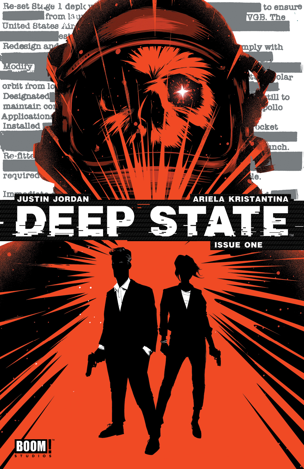 Deep State #1 2nd Printing