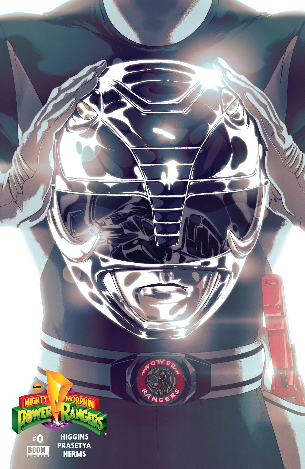 MIghty Morphin Power Rangers #0 Black Cover