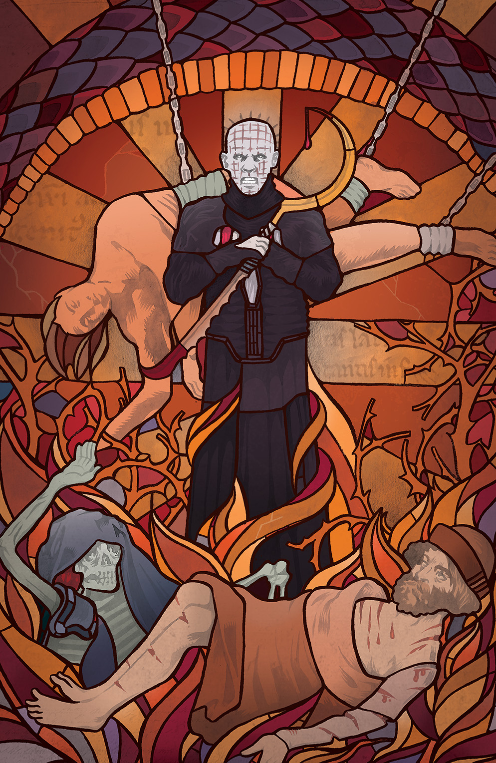Clive Barker's Hellraiser: Bestiary #6 Cover A by Conor Nolan