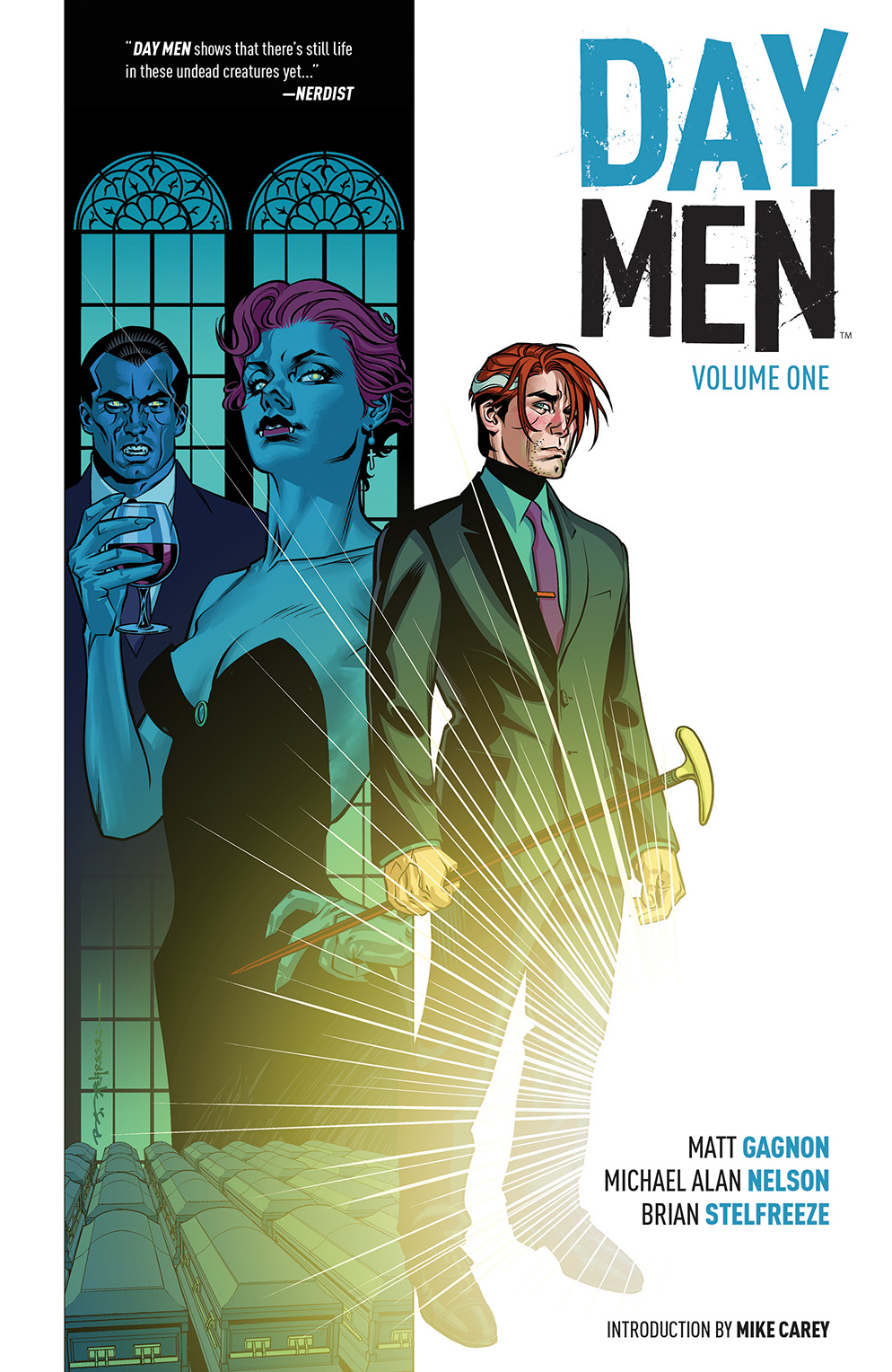 DAY MEN VOL. 1 TP Cover by Brian Stelfreeze