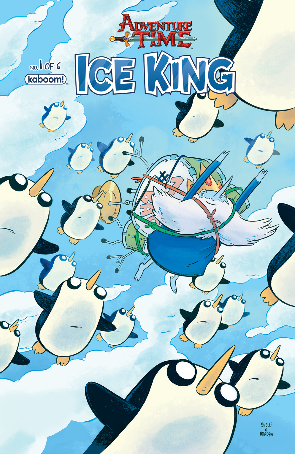 Adventure Time: Ice King #1 Main Cover
