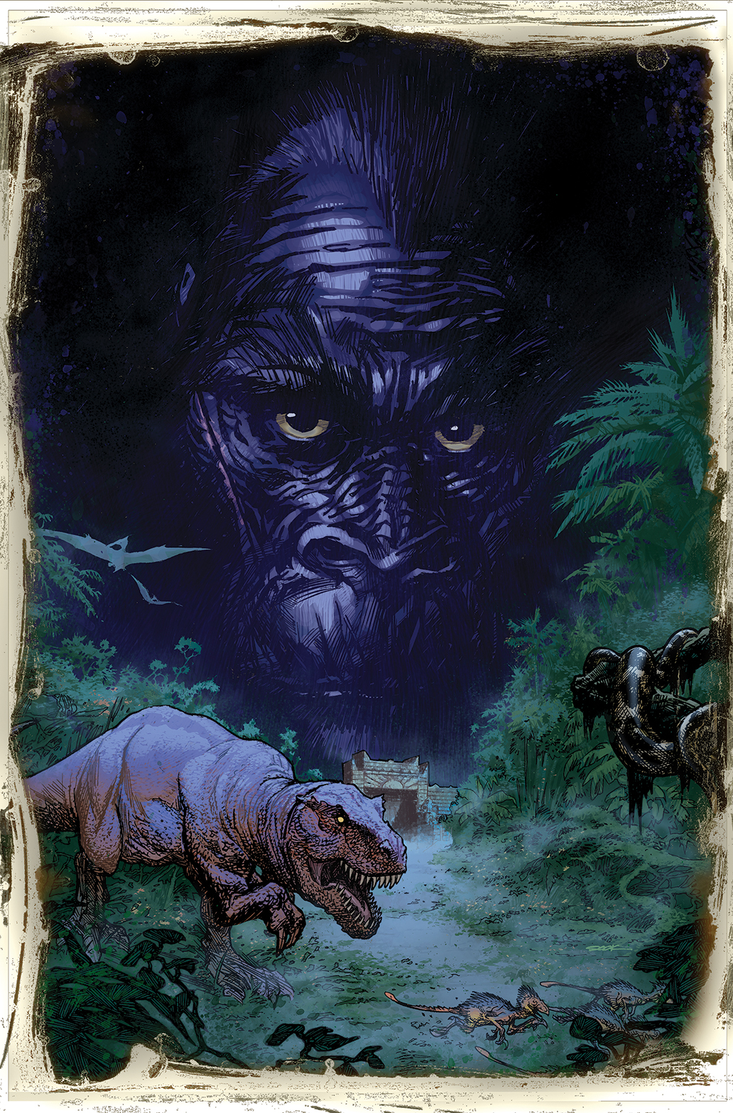 Kong of Skull Island #1 Auction Cover 1