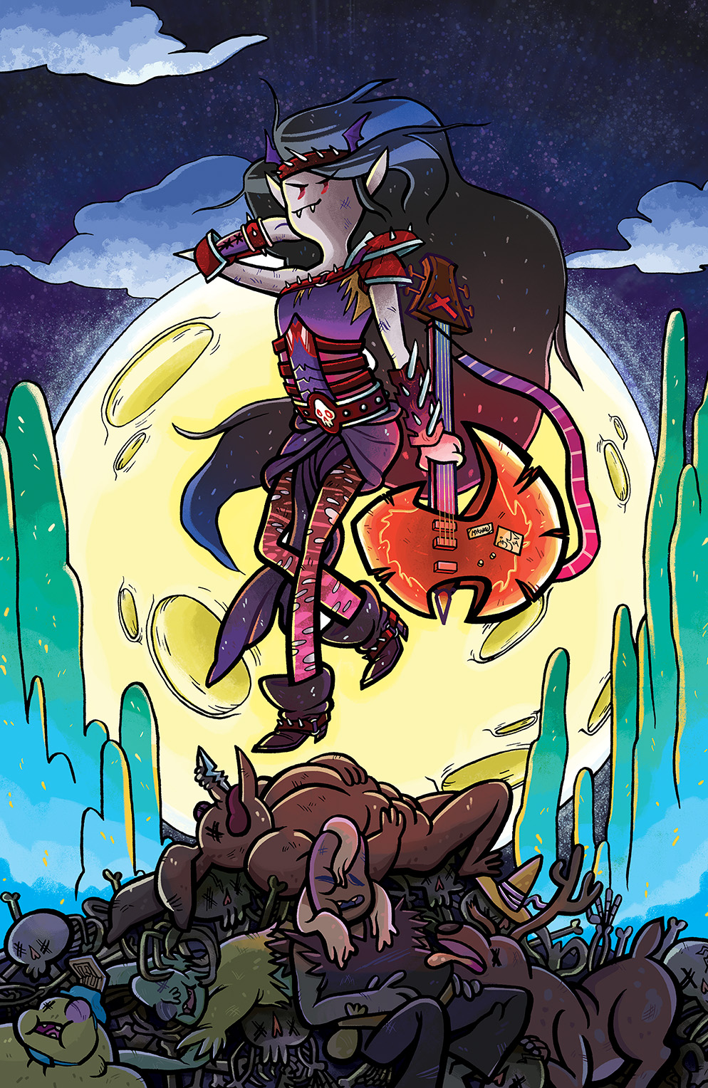 Adventure Time: Marceline Gone Adrift Cover B by Mychal Amann