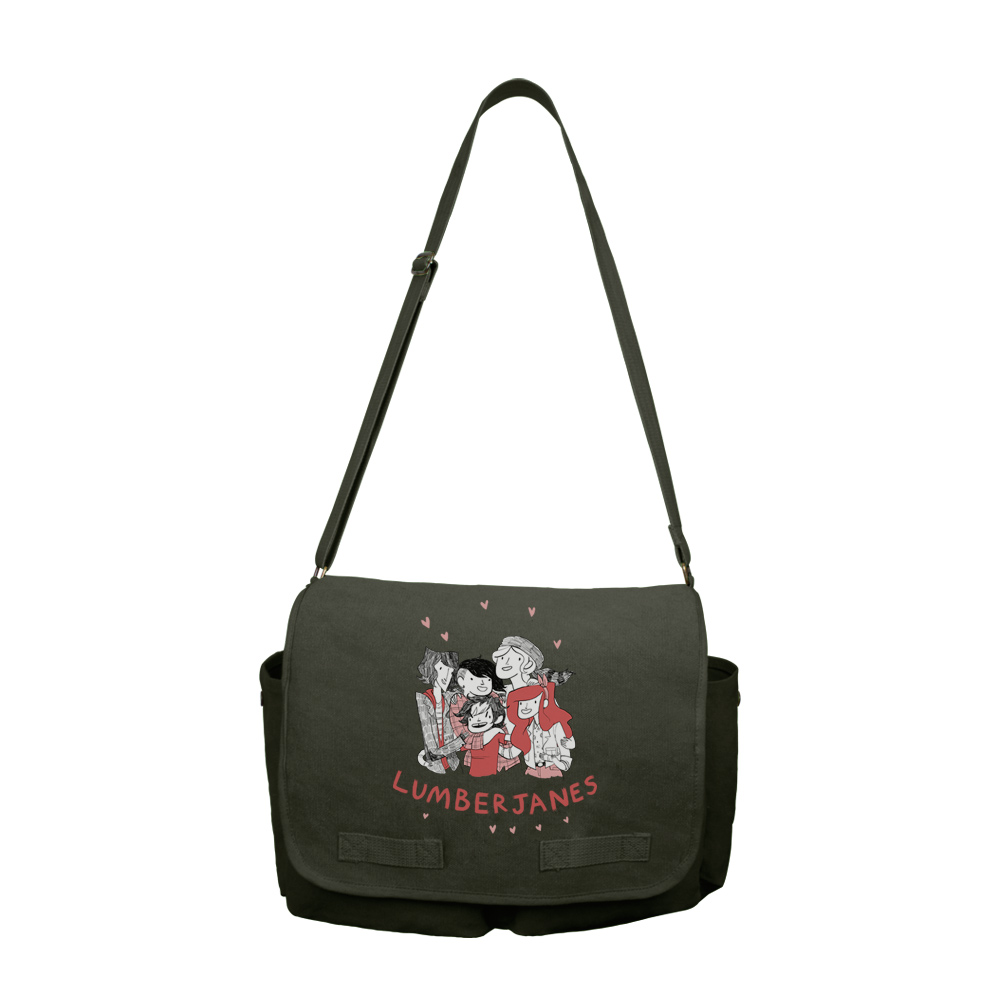 Lumberjanes Group Shot Messenger Bag