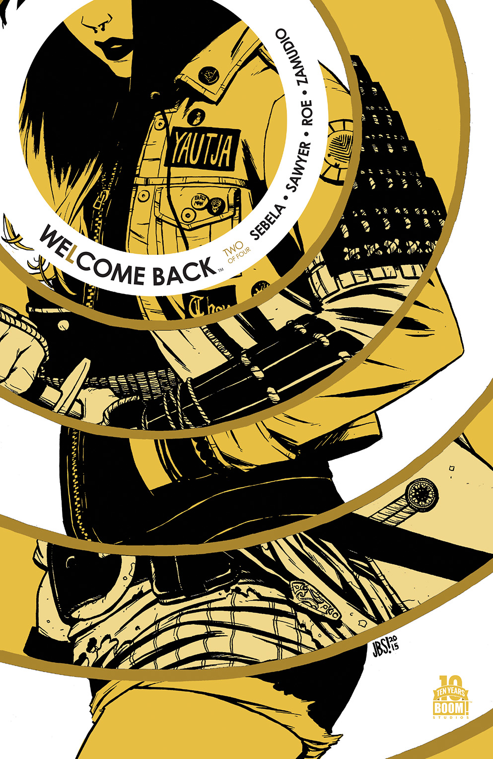 Welcome Back #2 Second Printing Cover
