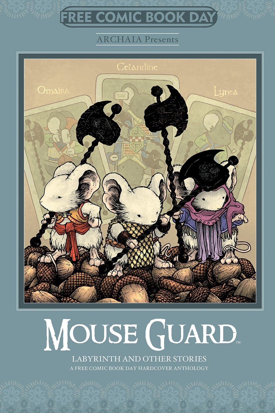2014 Archaia Free Comic Book Day Cover
