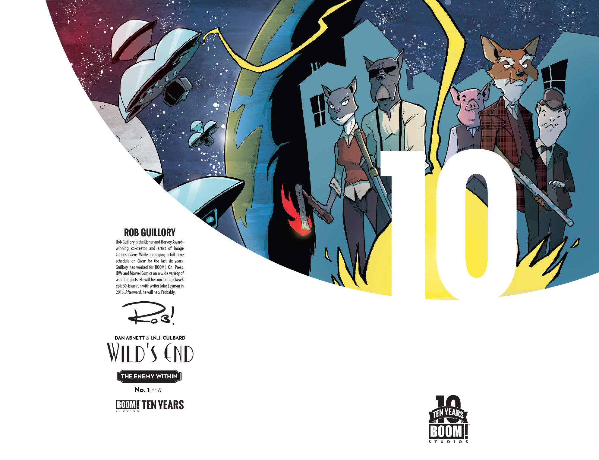 Wild's End: The Enemy Within 10 Years Cover
