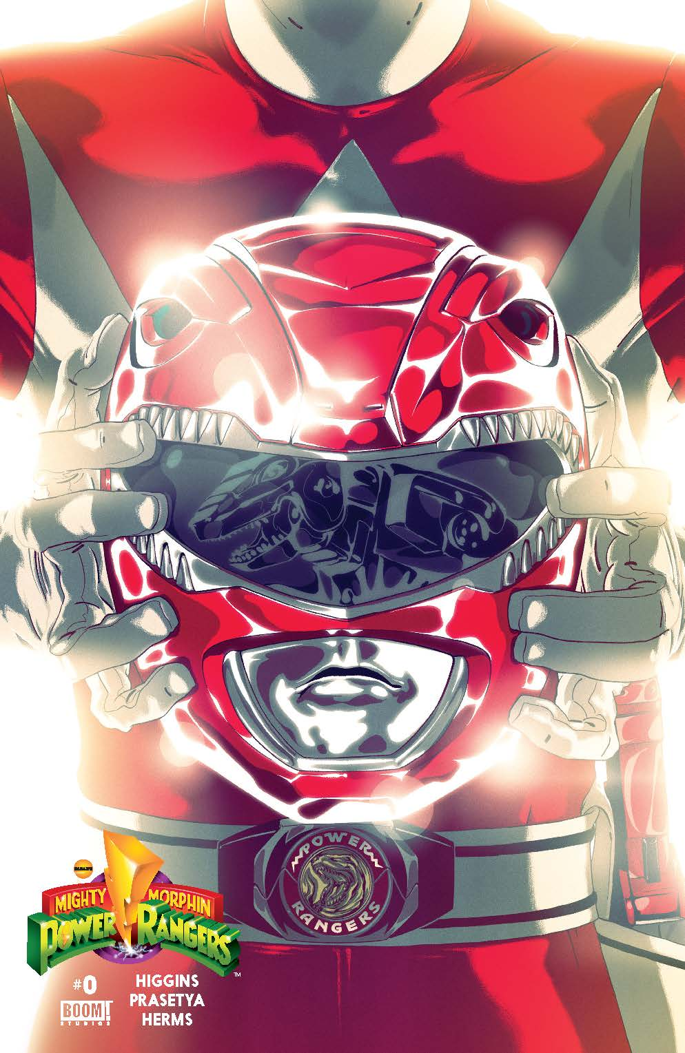 MIghty Morphin Power Rangers #0 Red Cover