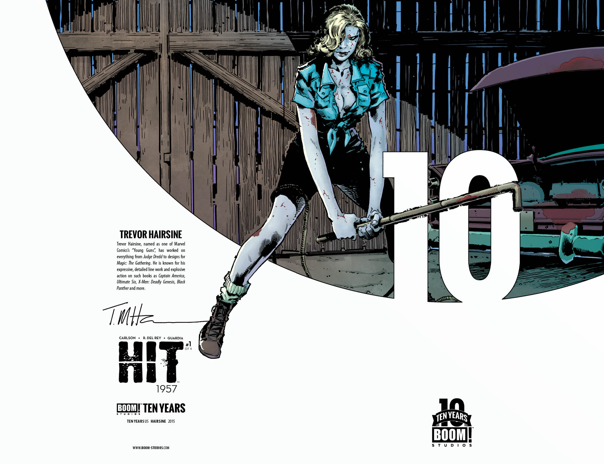 Hit: 1957 #1 10 Years Incentive Cover