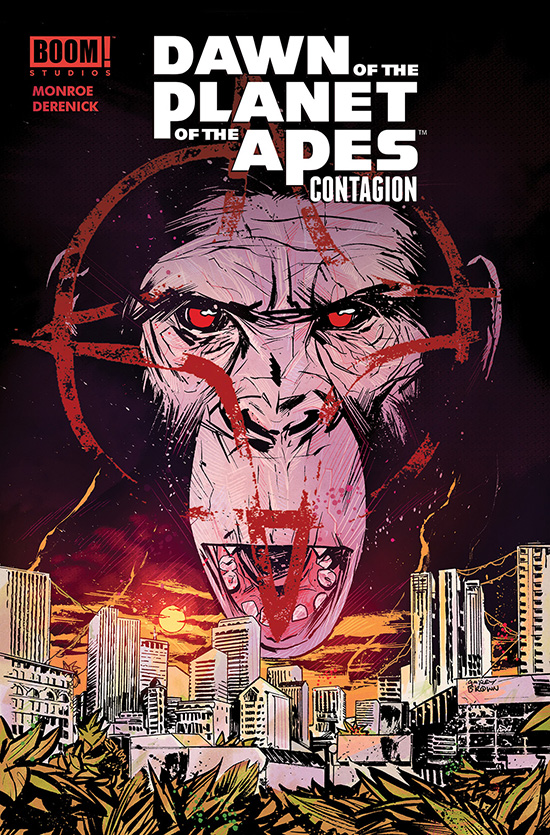 Dawn of the Planet of the Apes: Contagion