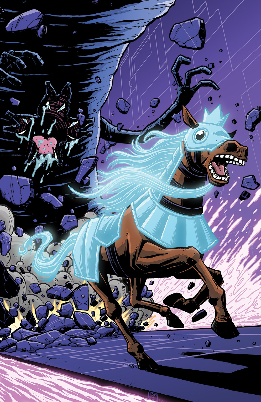 BW: Paralyzed Horse Giant #1 Cover B