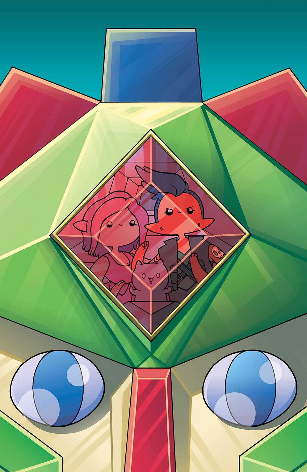 Bravest Warriors #28 Cover A by Ian McGinty