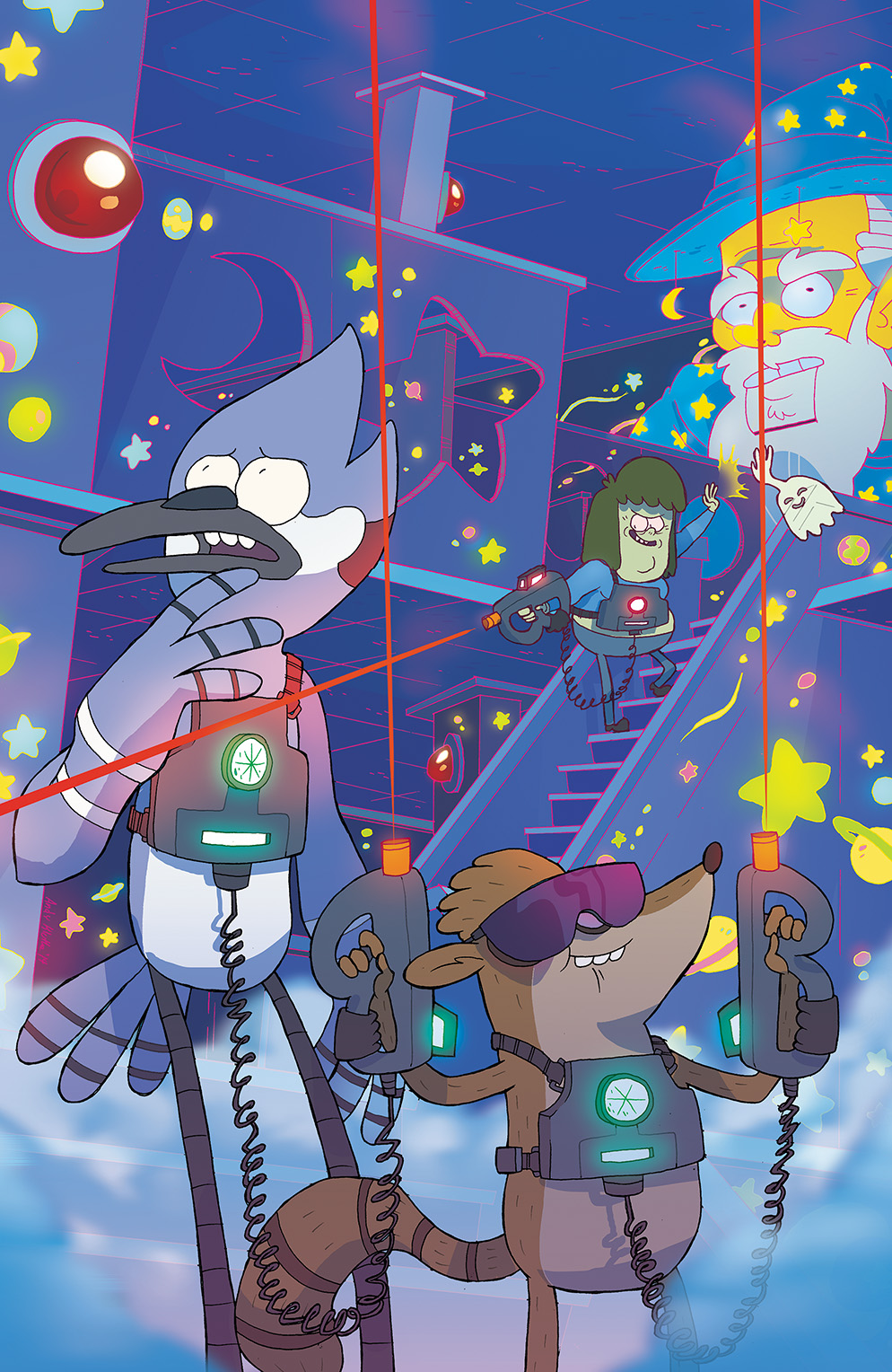Regular Show #19 Cover B by Andy Kluthe