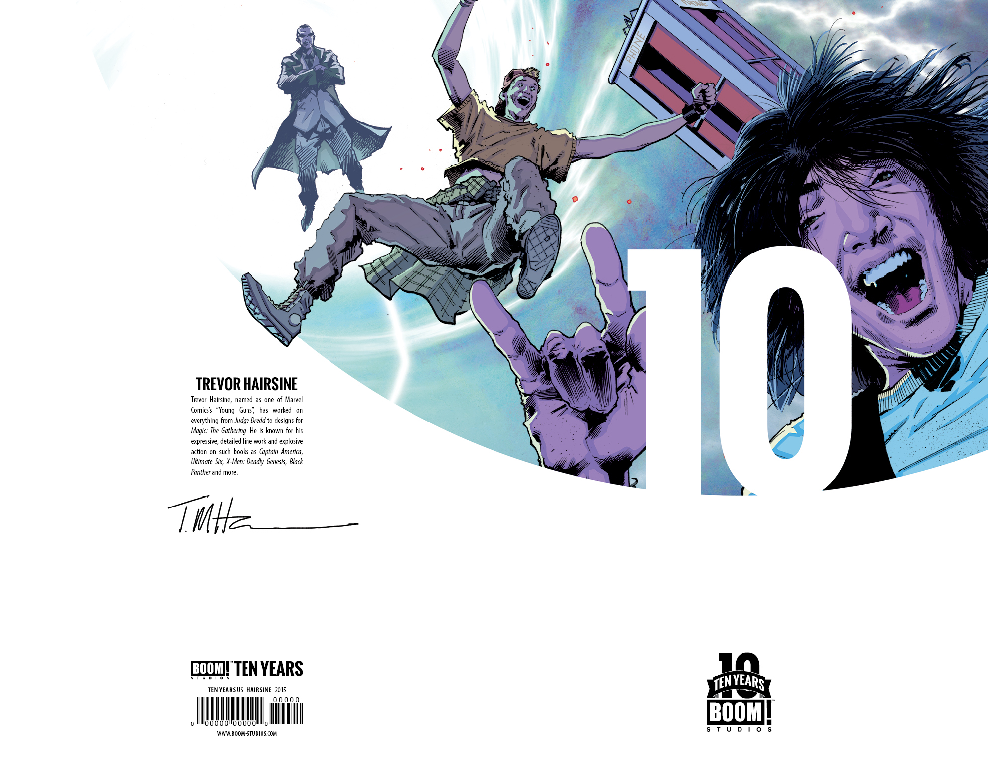 Bill & Ted's Most Triumphant Return #1 10 Years Incentive Cover by Trevor Hairsine