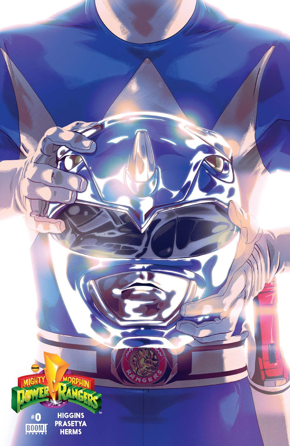MIghty Morphin Power Rangers #0 Blue Cover