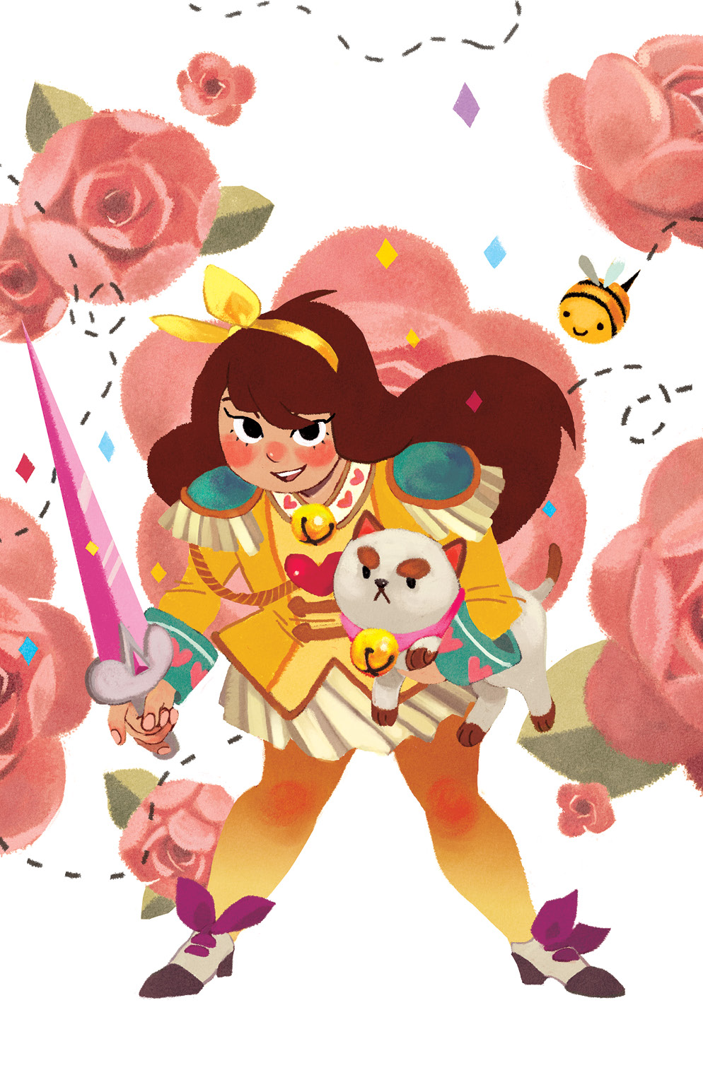 BEE AND PUPPYCAT #1  Phoenix Comicon Exclusive Cover by Anissa Espinosa