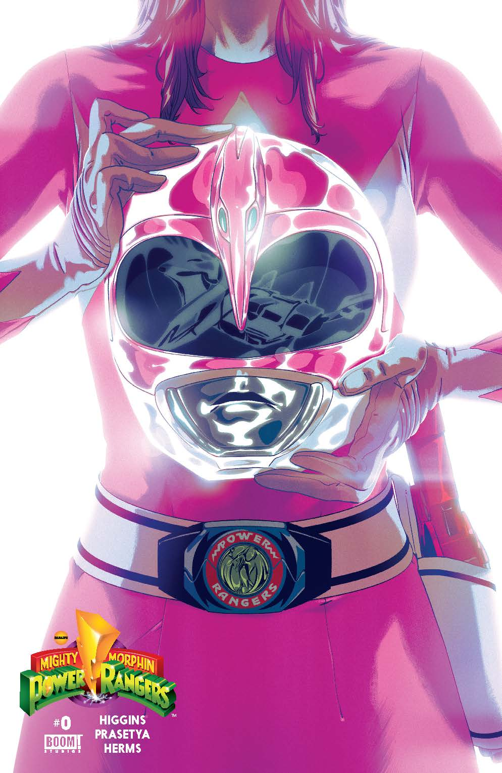 MIghty Morphin Power Rangers #0 Pink Cover