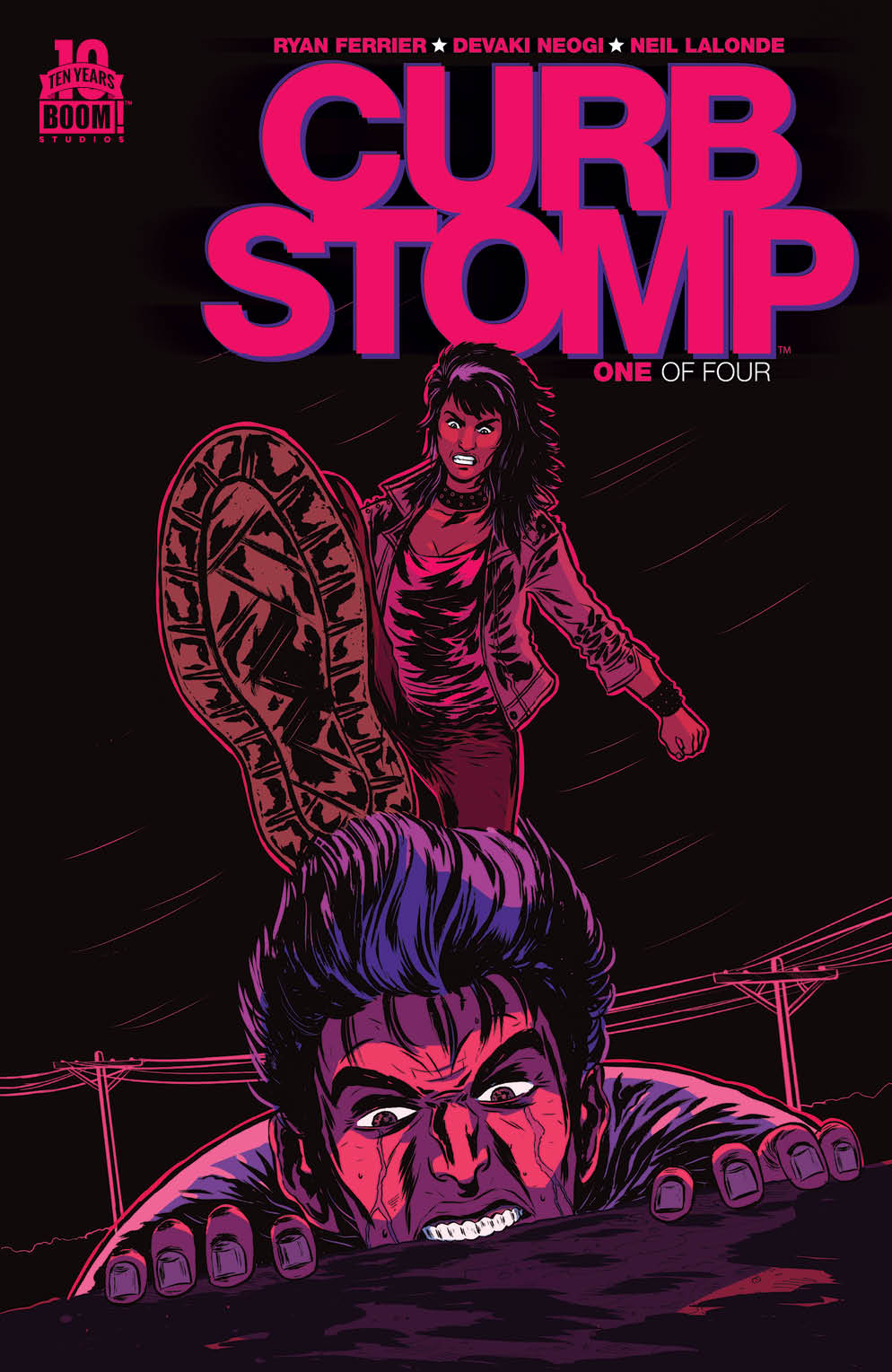 Curb Stomp #1 2nd Printing