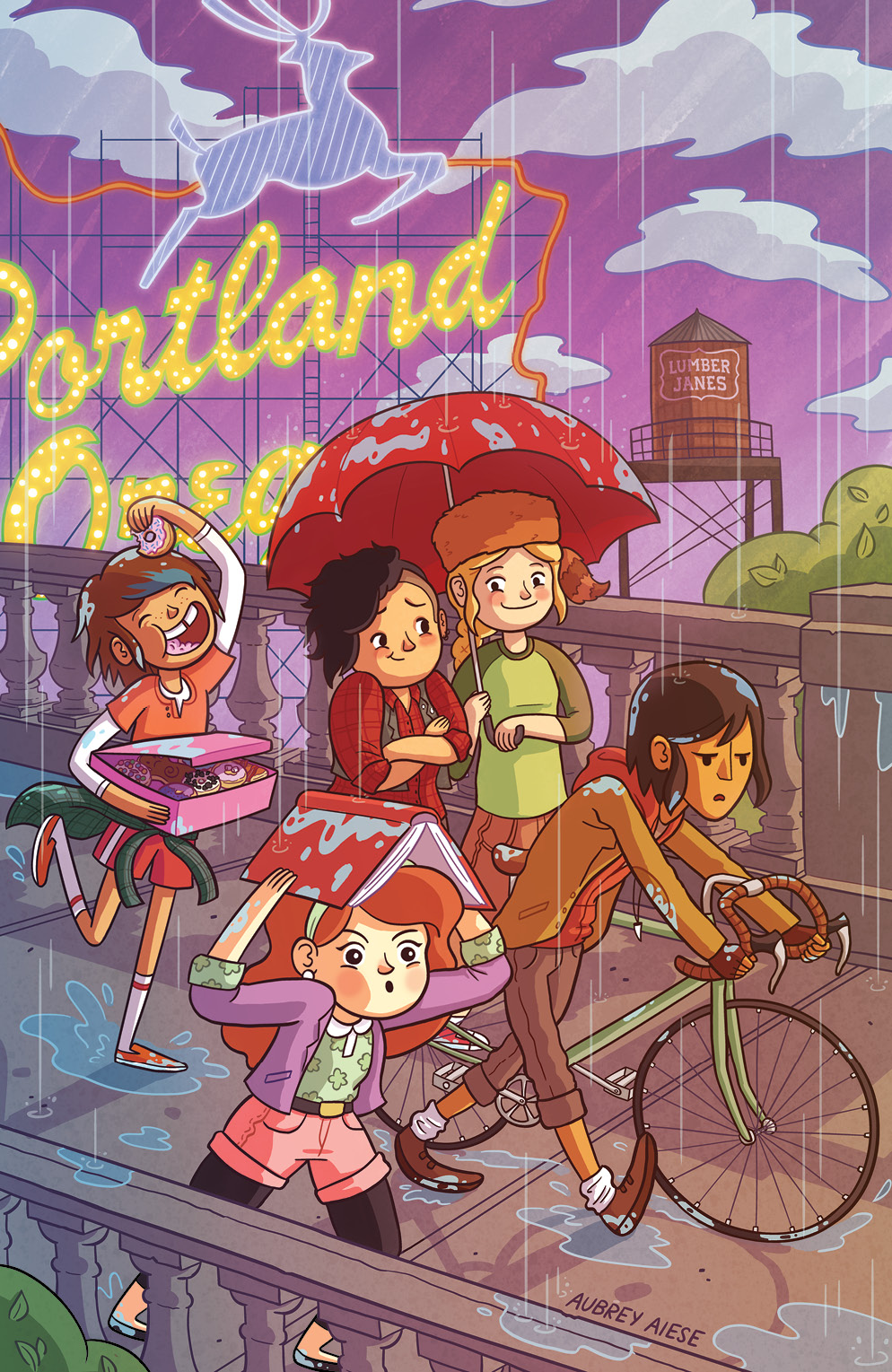 Lumberjanes #6 Rose City Comic Con Exclusive