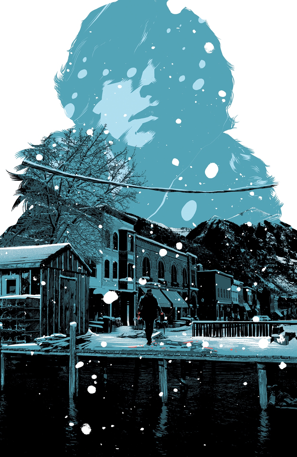 Snow Blind #1 Incentive Cover by Matt Taylor