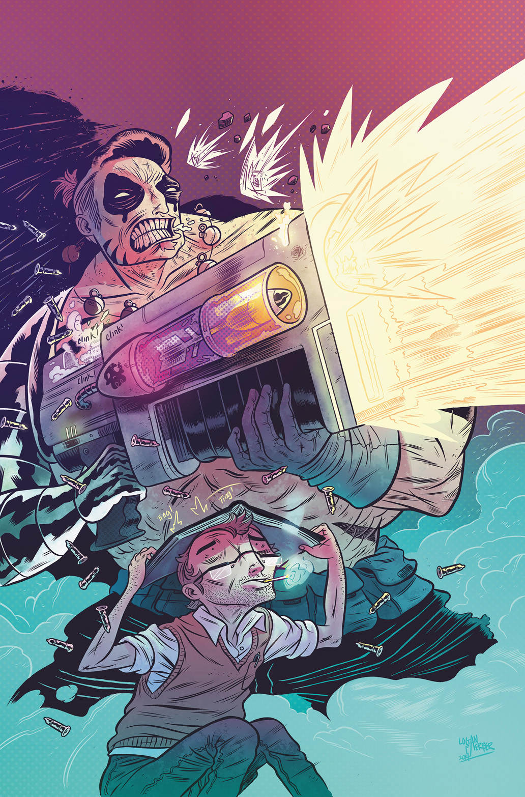 Oh, Killstrike #1 Main Cover