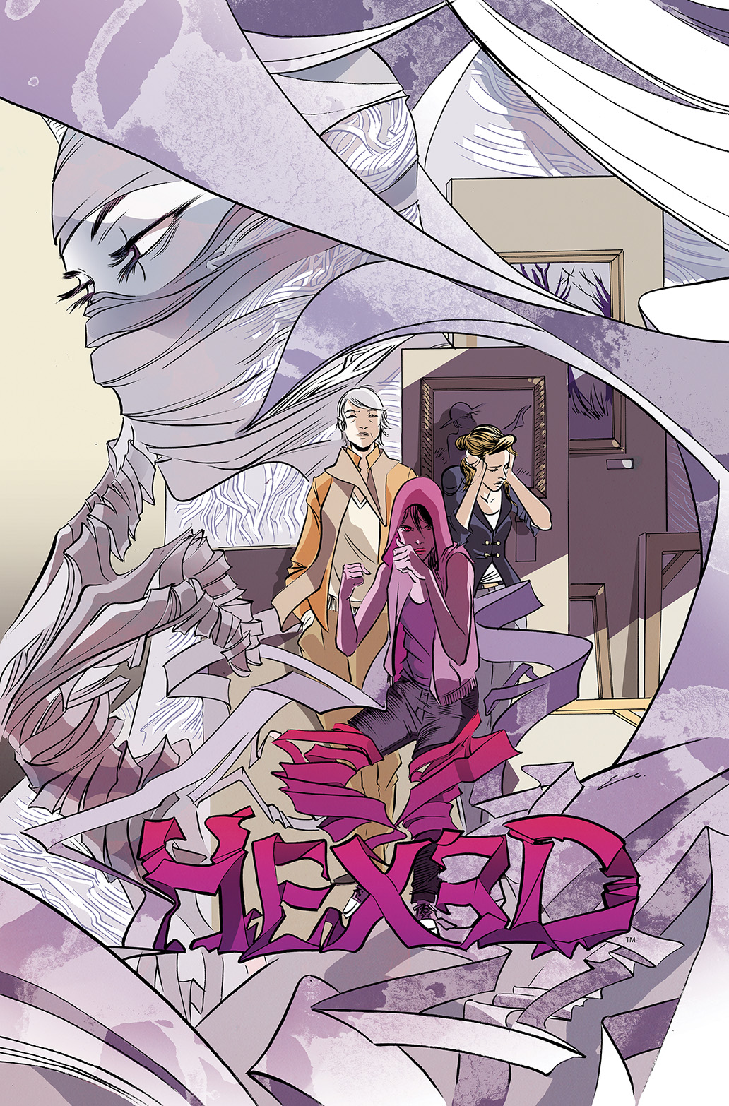 HEXED #3 Cover