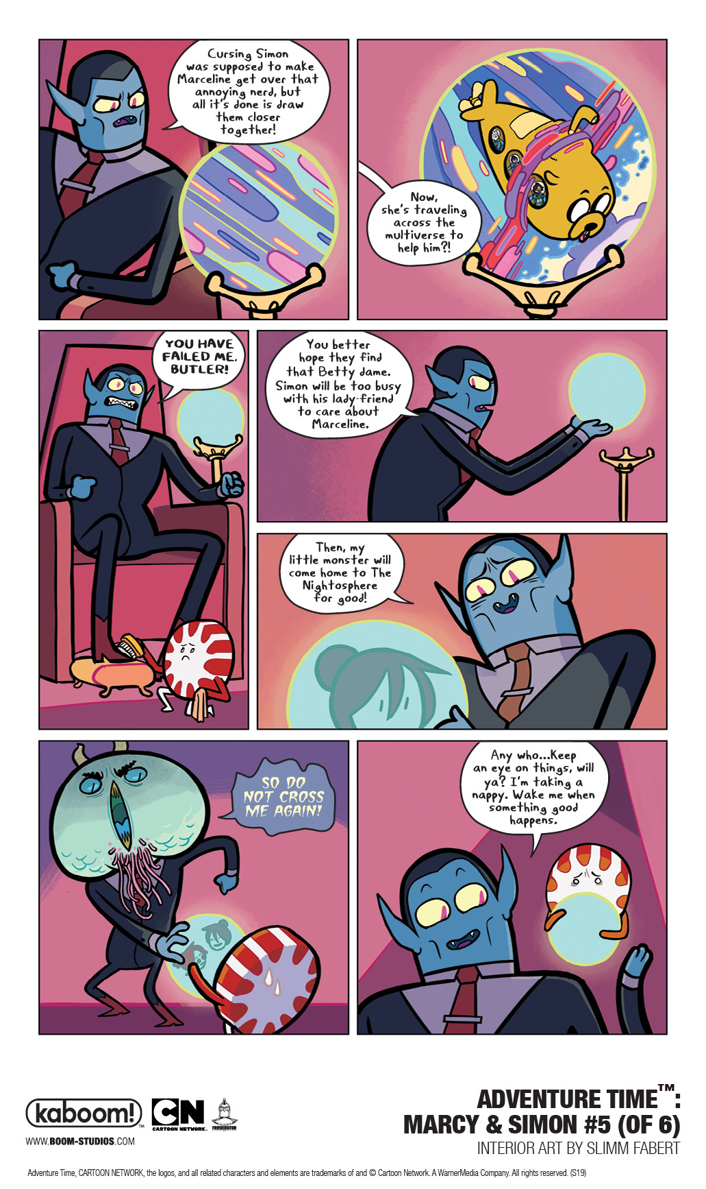 ADVENTURE TIME™: MARCY & SIMON #5