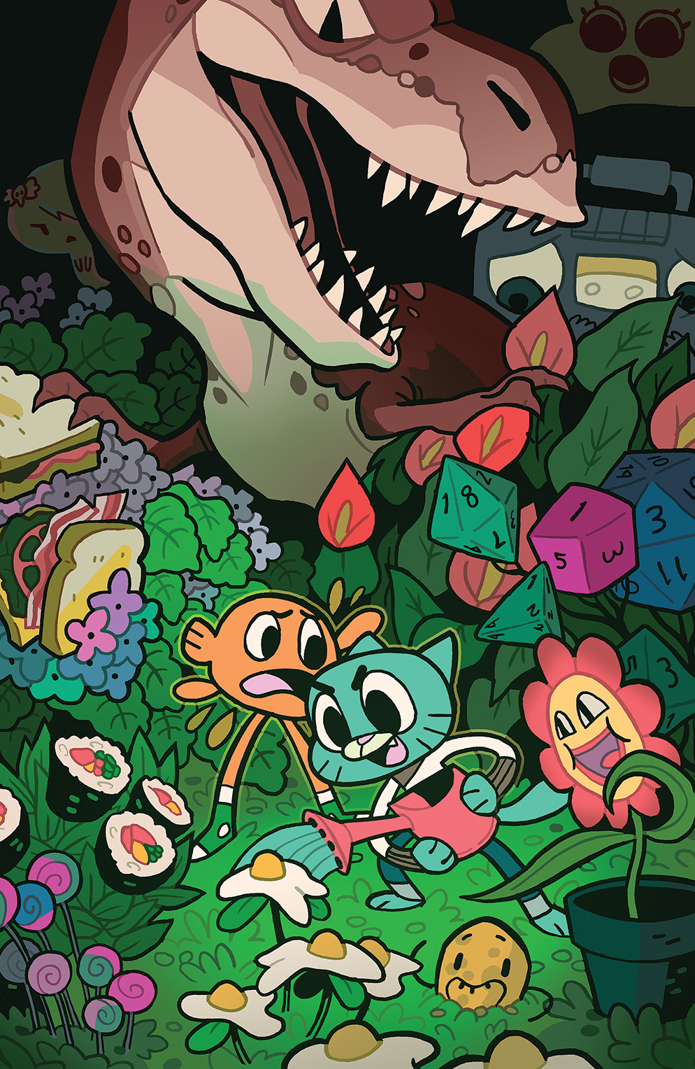 Amazing World of Gumball 2014 Special #1 Cover B