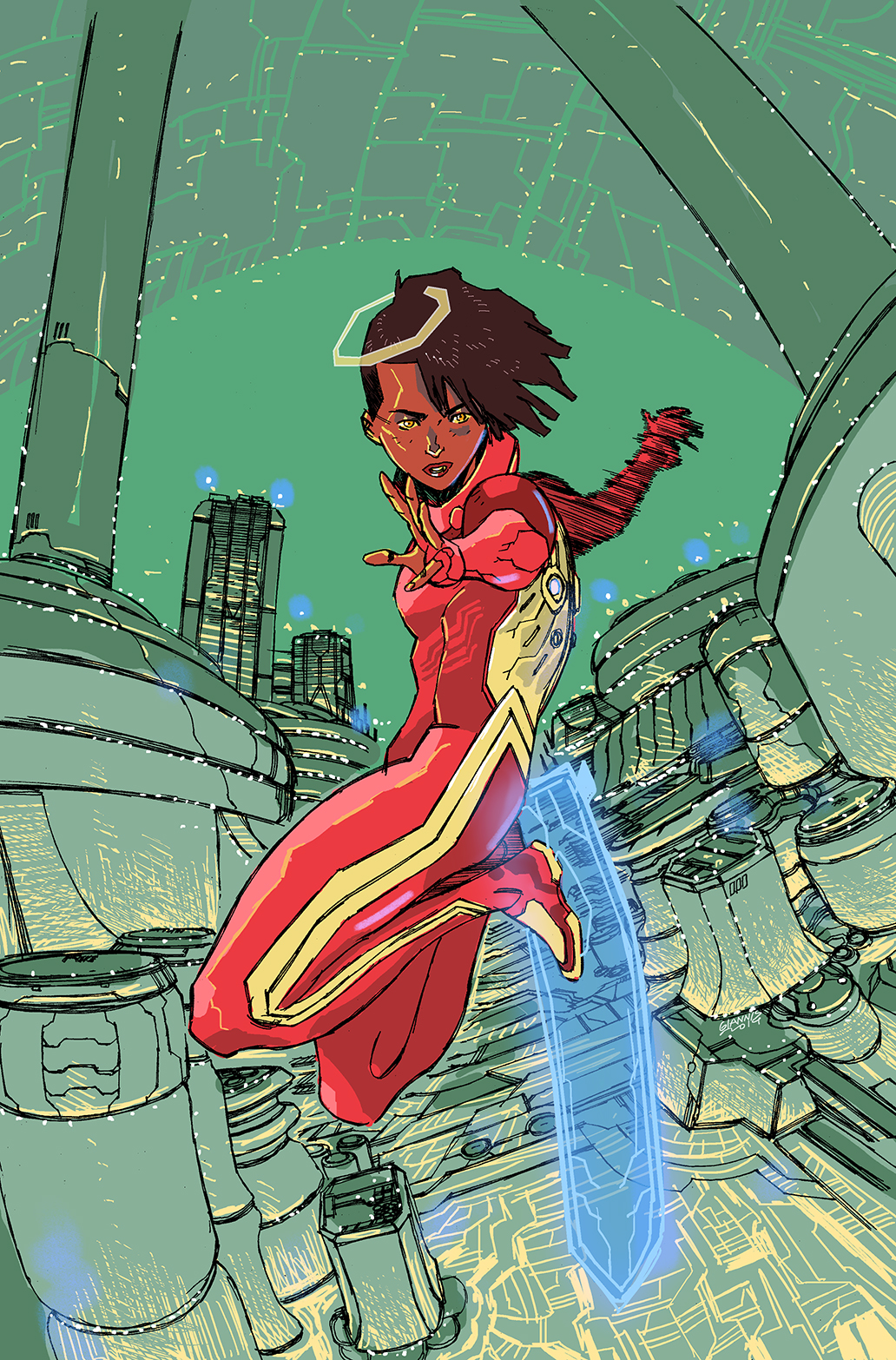 HaloGen #1 Incentive Cover