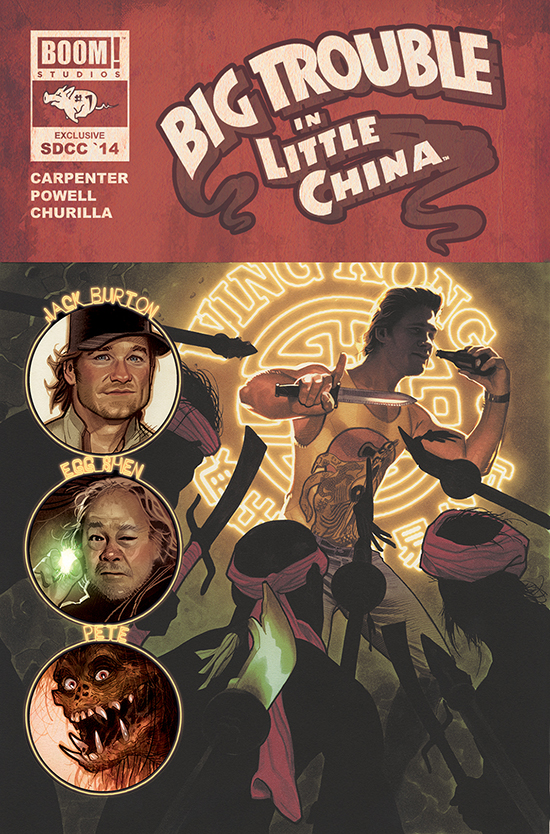 Big Trouble in Little China #1 - SDCC