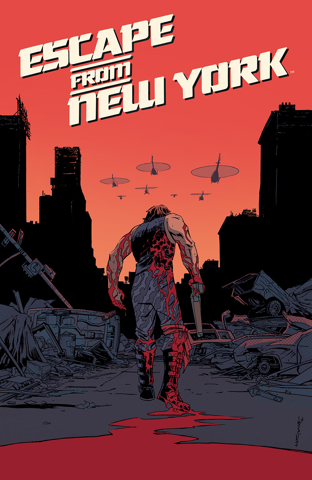 Escape from New York #1 Cover A