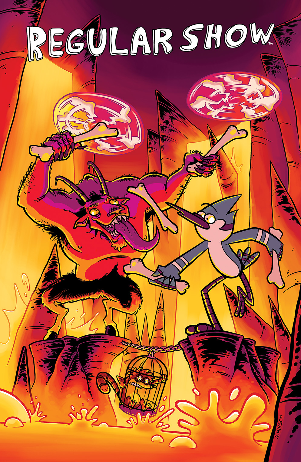 REGULAR SHOW #16 Cover A