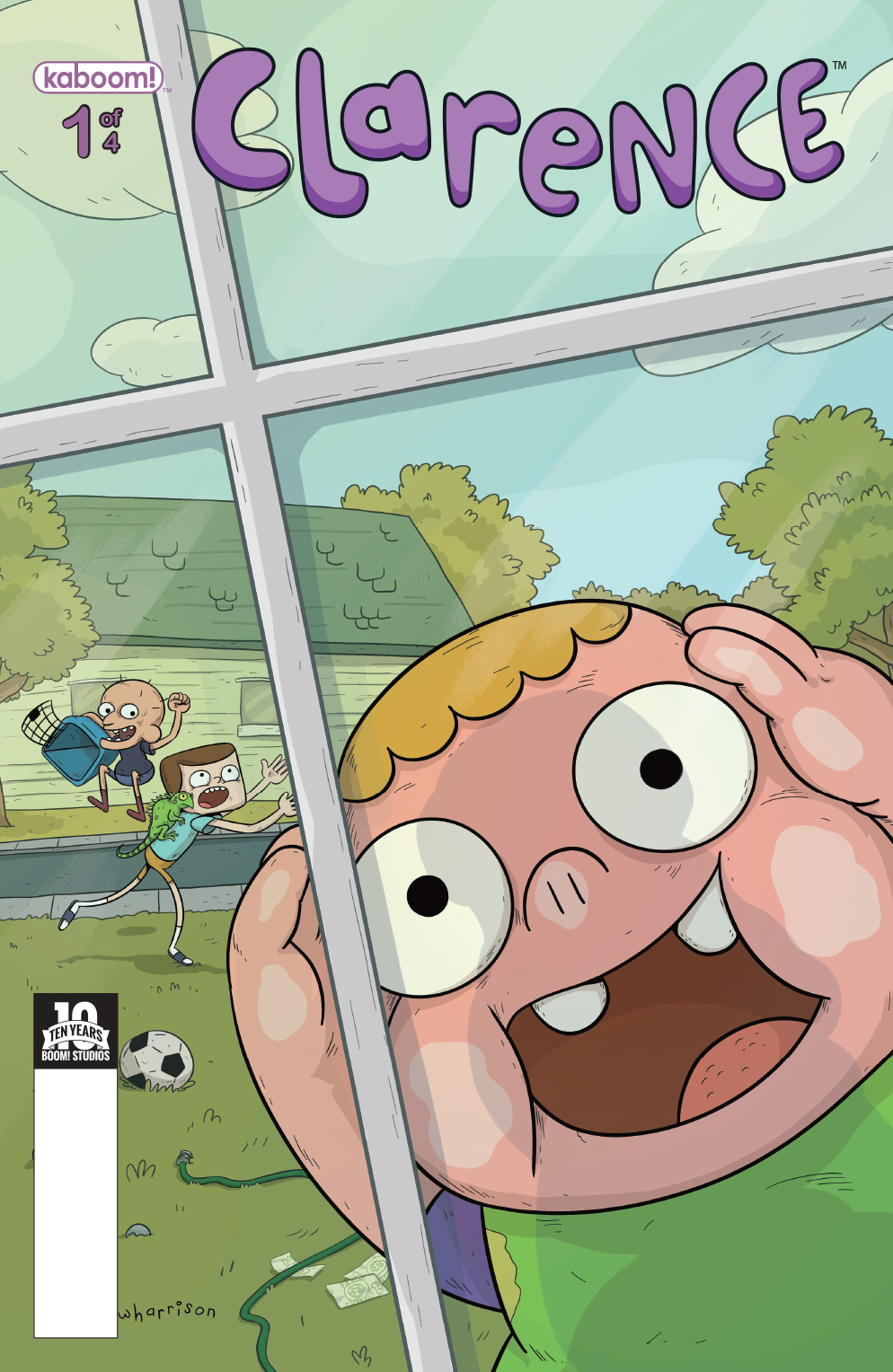 Clarence #1 Main Cover