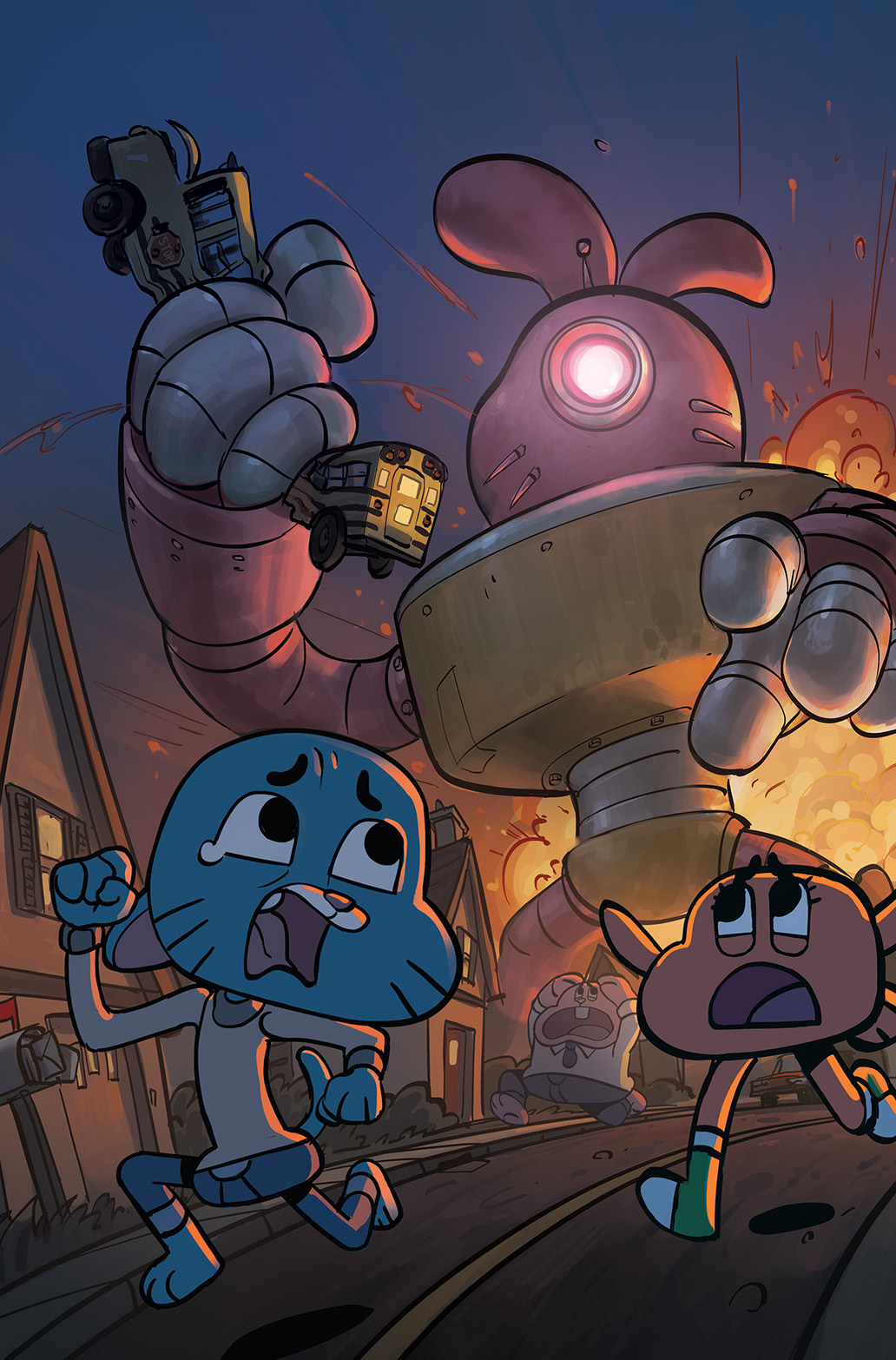 THE AMAZING WORLD OF GUMBALL #5 Cover C