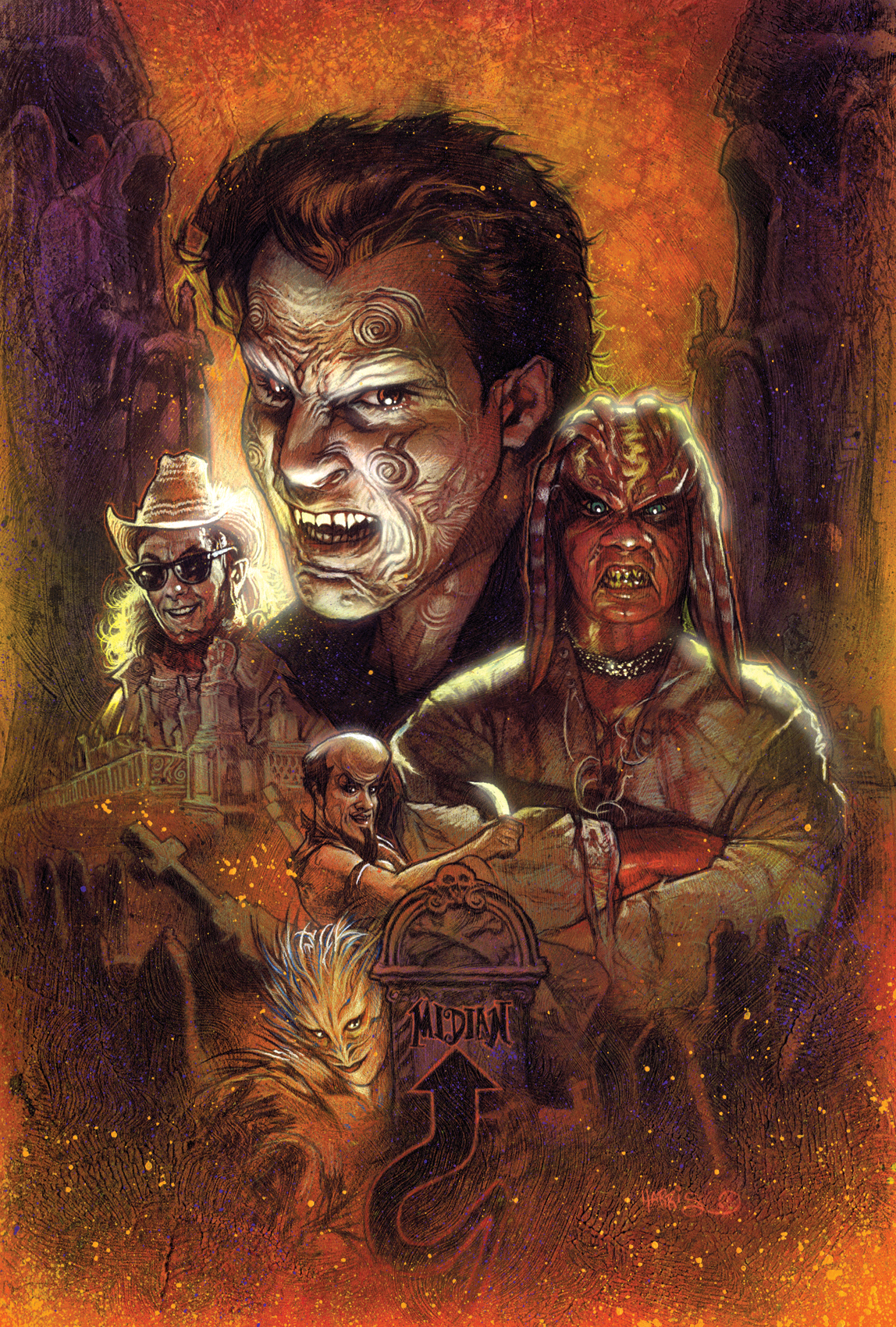 CLIVE BARKER'S NIGHTBREED #1 Phoenix Comicon Exclusive Cover by Tony Harris