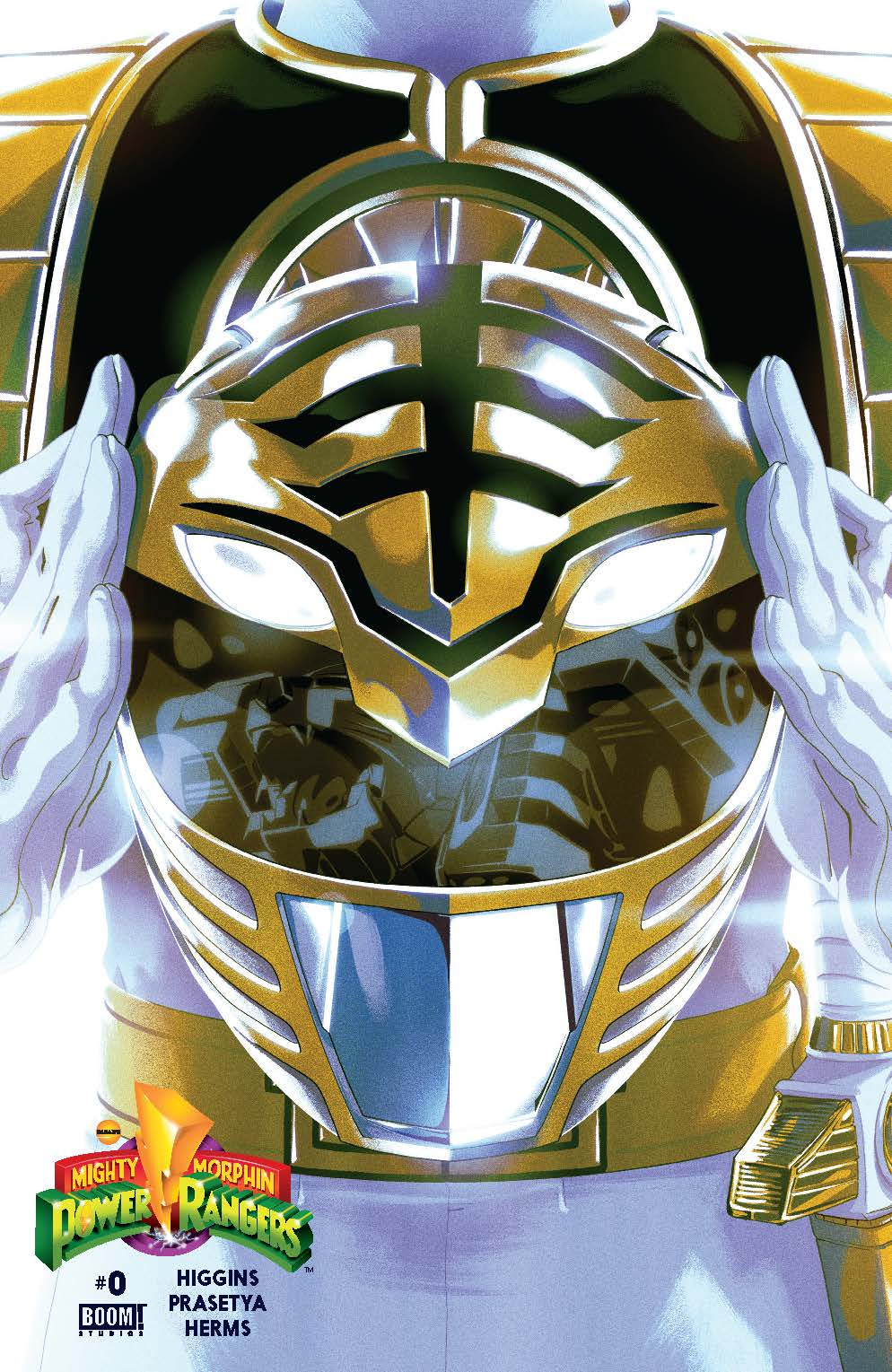 MIghty Morphin Power Rangers #0 White Cover