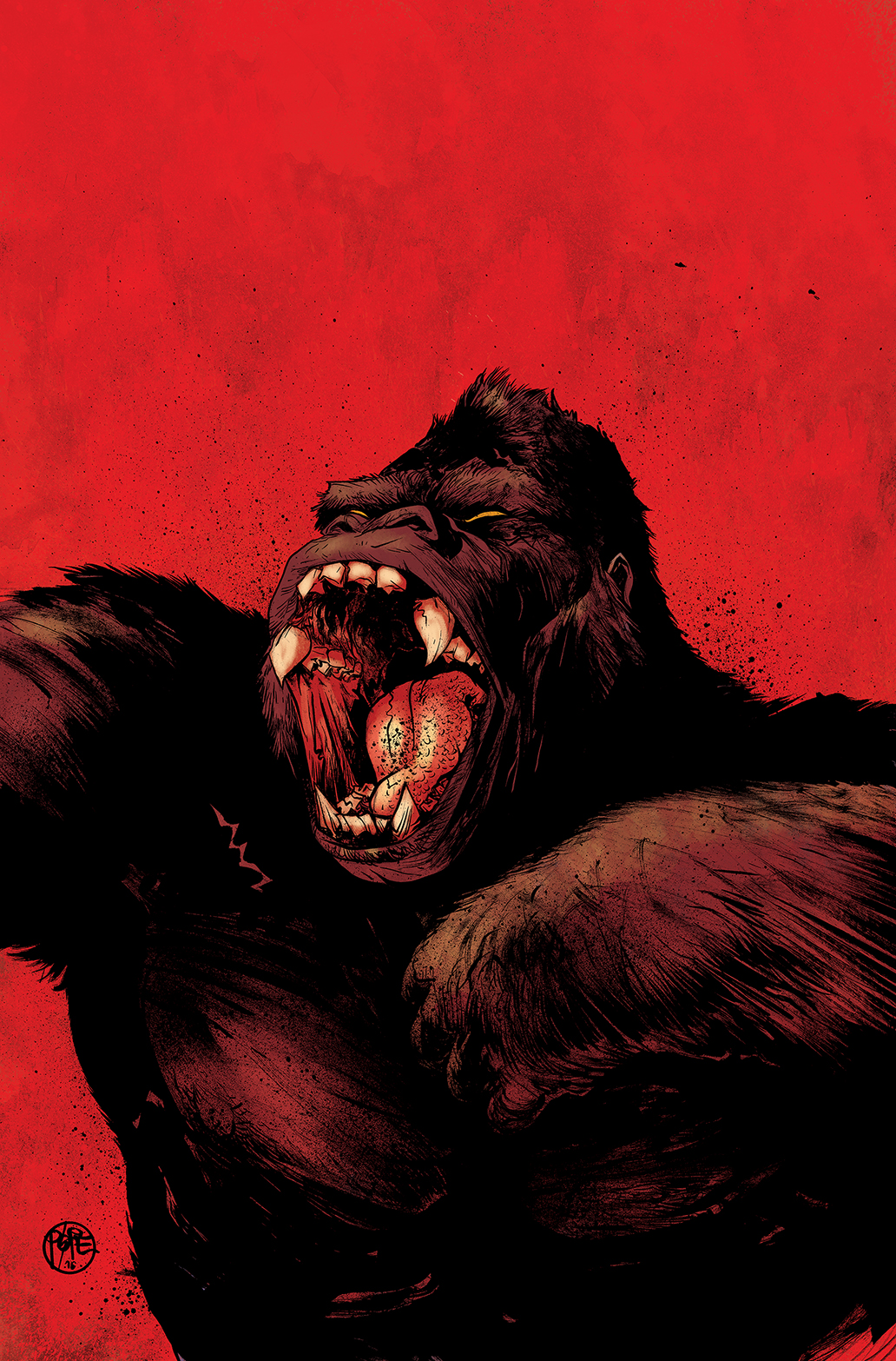 Kong of Skull Island #1 Auction Cover 2