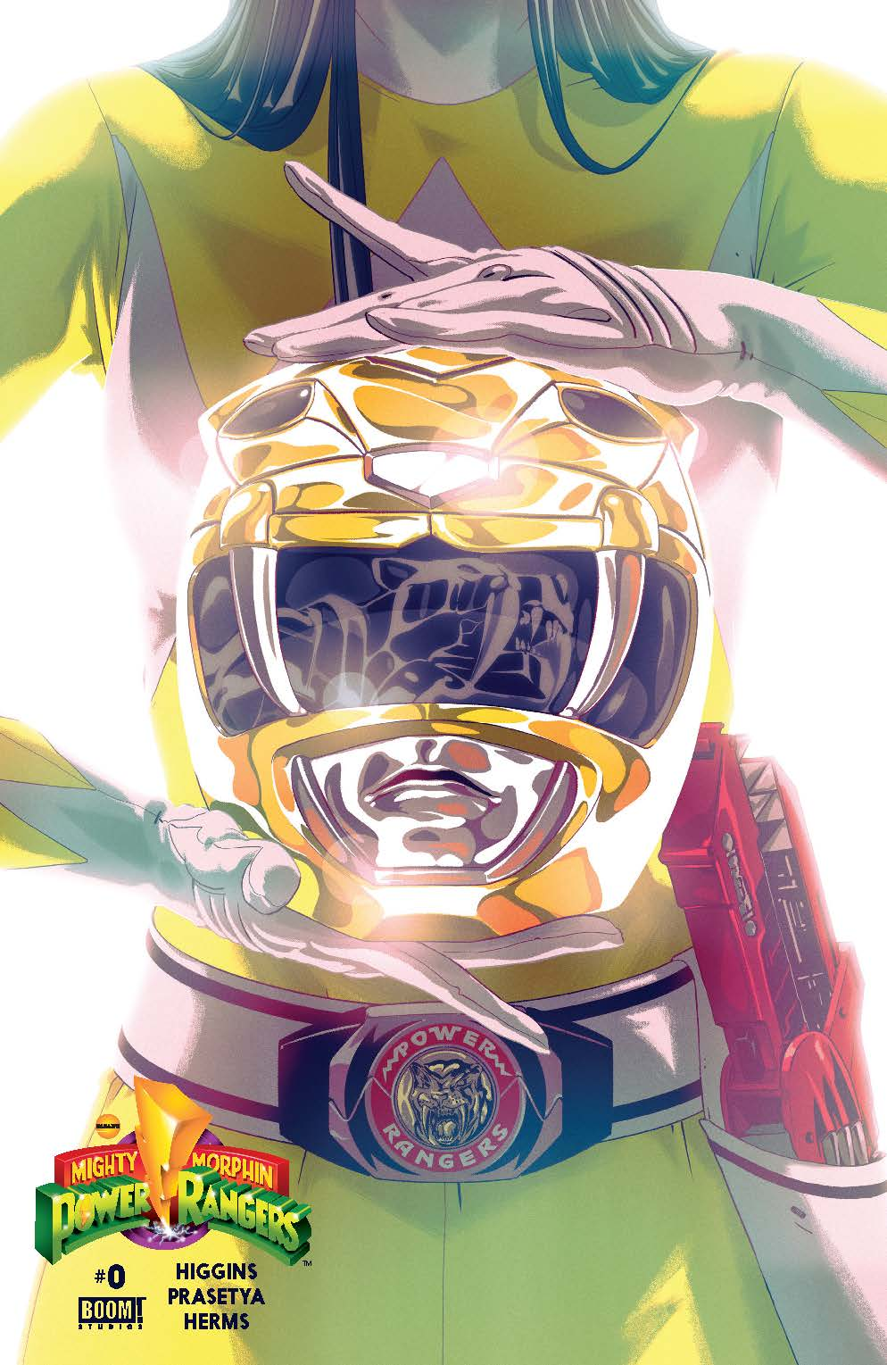 MIghty Morphin Power Rangers #0 Yellow Cover