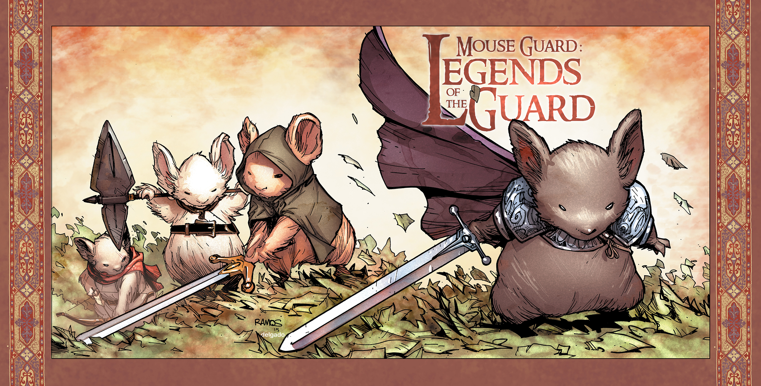MG: Legends of the Guard Vol. 3 #1 Incentive Cover