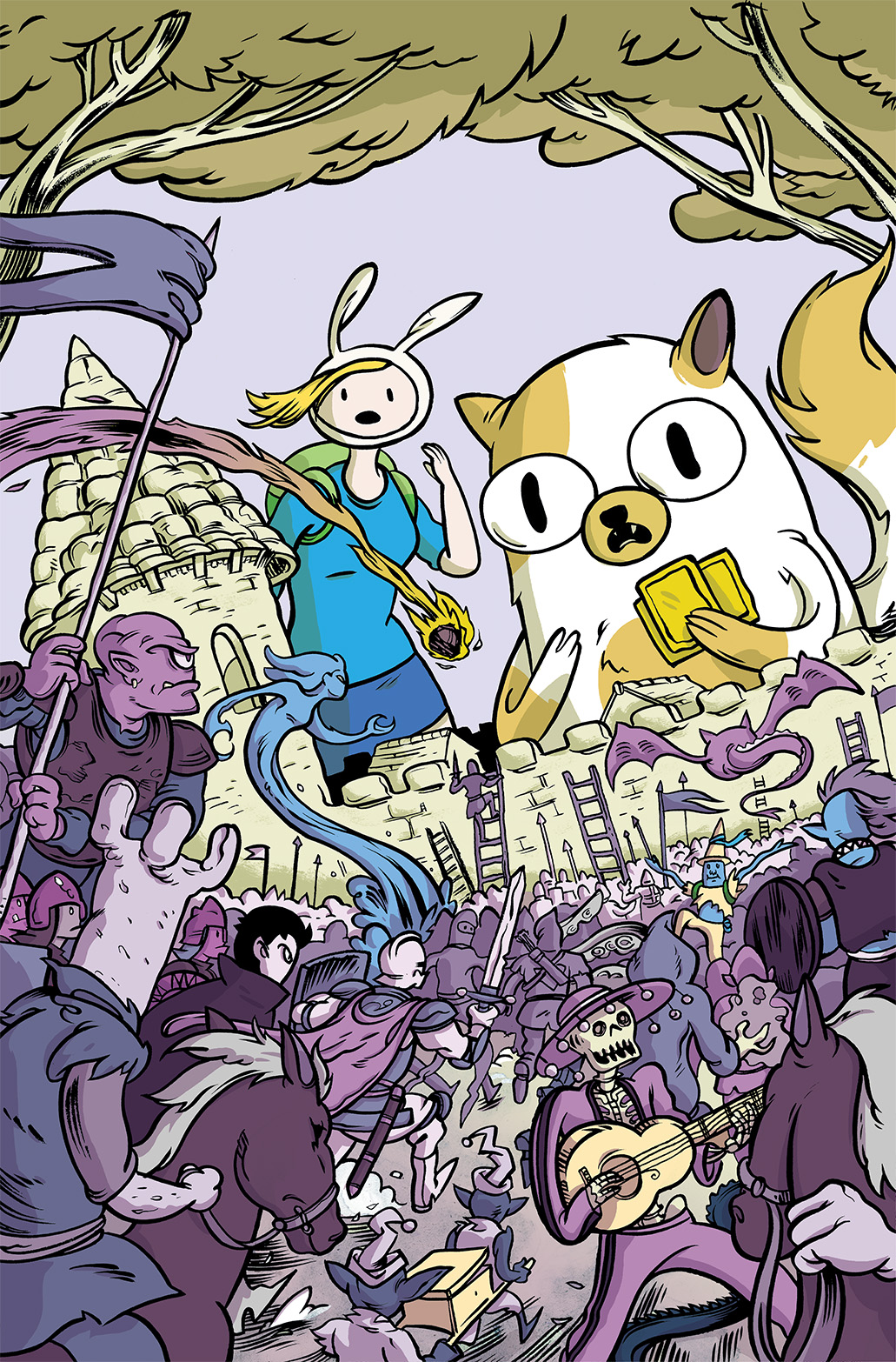 Adventure Time with Fionna & Cake: Card Wars #1 Subscription Cover