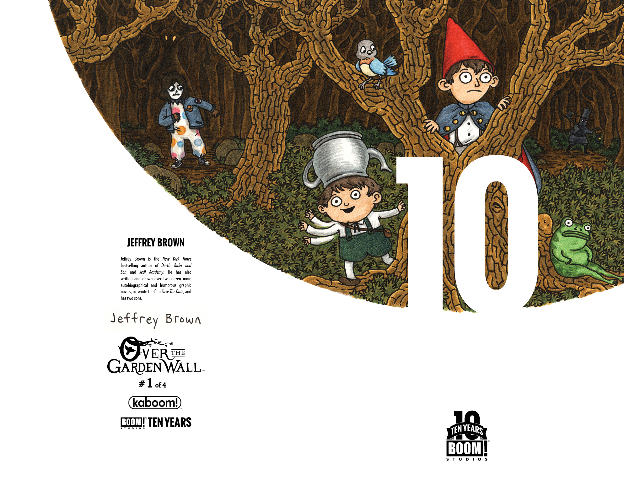 Over the Garden Wall #1 10 Years Cover