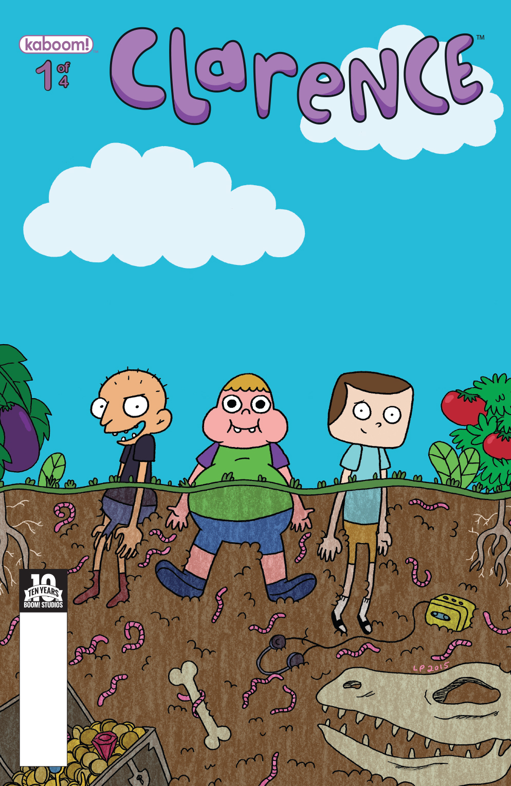Clarence #1 Subscription Cover