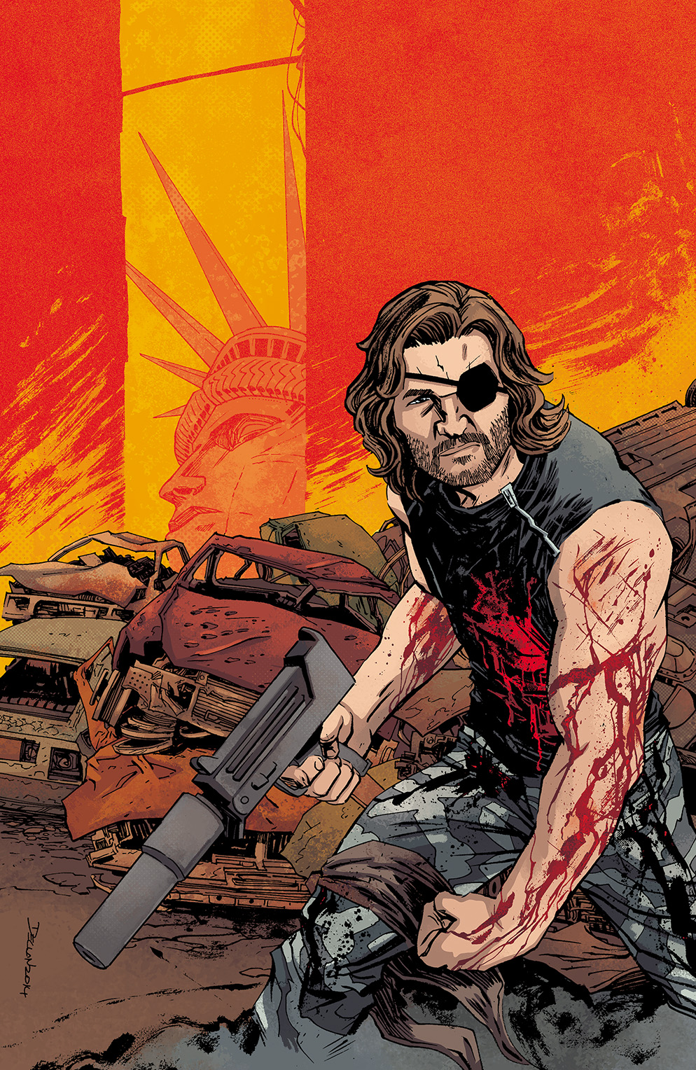 Escape from New York #2 Cover A by Declan Shalvey