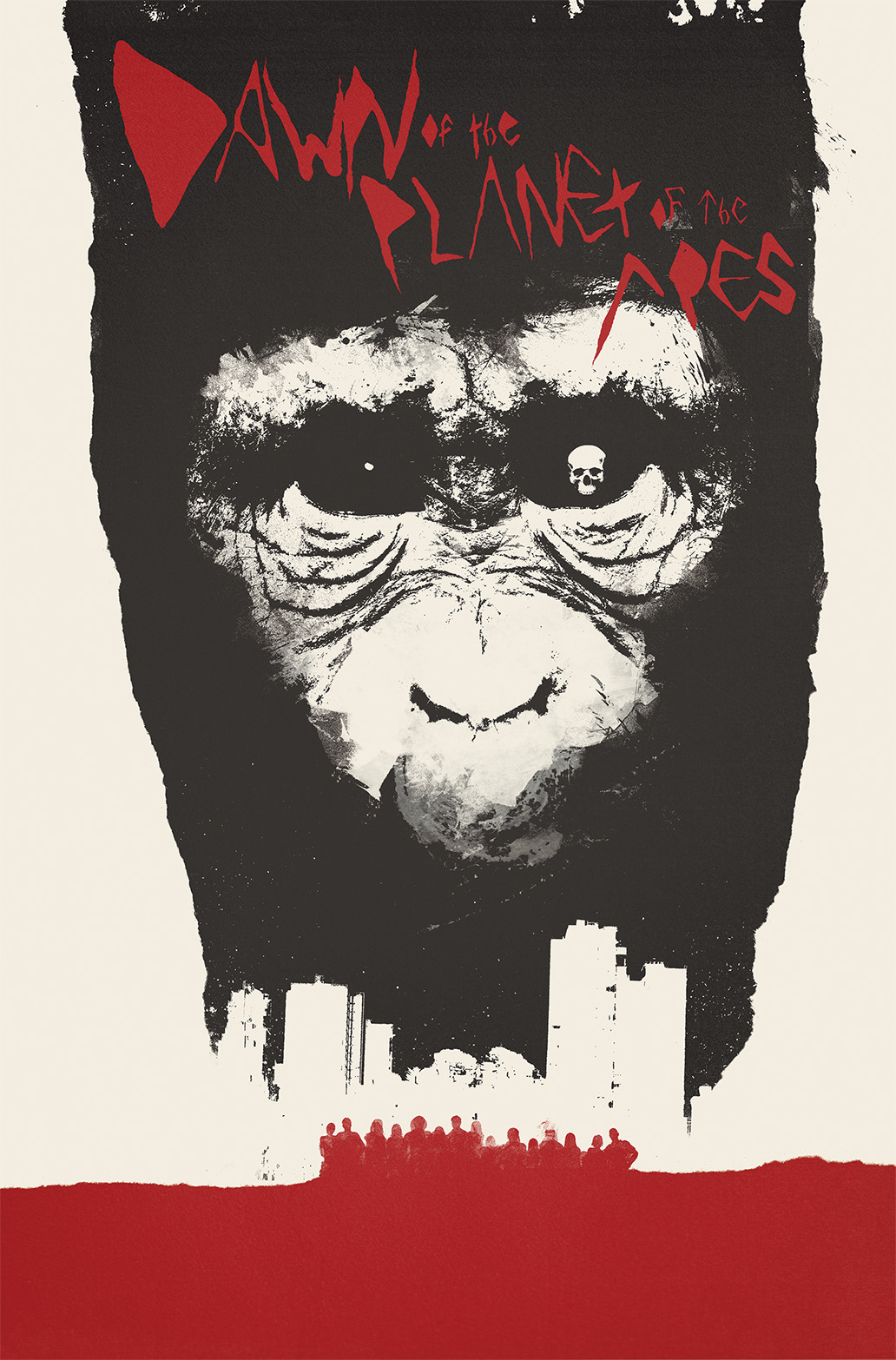 Dawn of the Planet of the Apes #1 Cover B