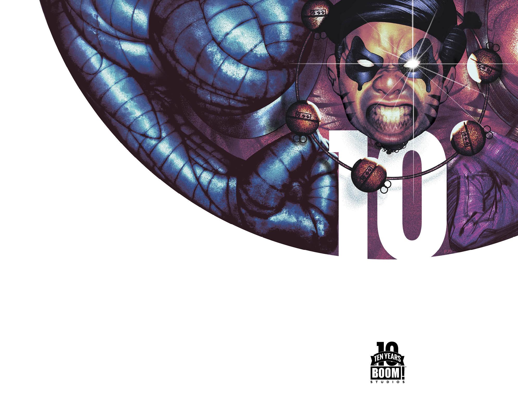 Oh, Killstrike #1 10 Years Variant Cover